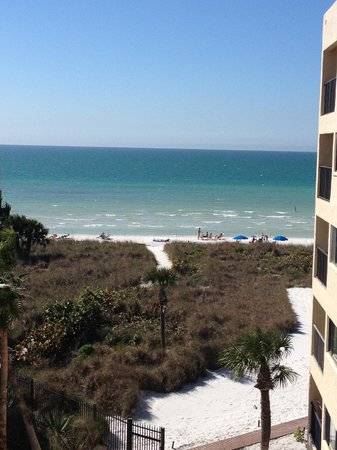 Siesta Sands Beach Resort: View from Condo Balcony