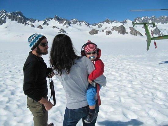 Glacier Country Scenic Flights: my flight companions