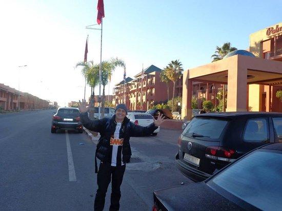 Palm Plaza Marrakech Hotel & Spa: Parte externa
