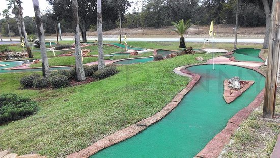 Spring Hill Fun Zone: Part of the Mini Golf-- Very simple