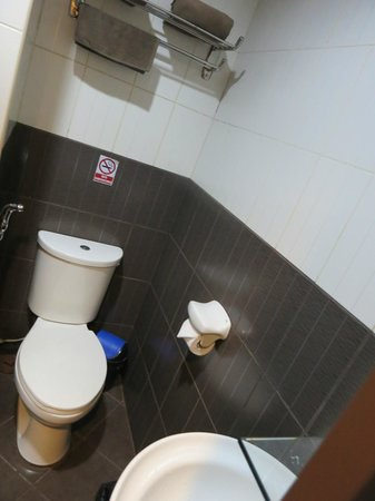 Casa Bocobo Hotel: Toilet