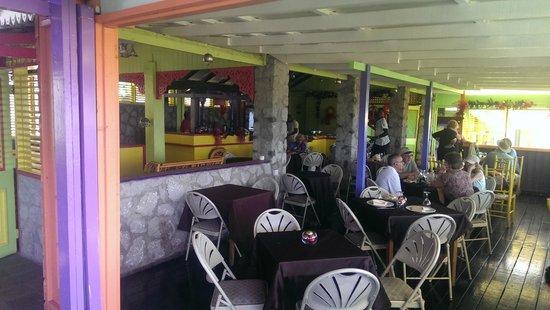 Sandals Grande St. Lucian Spa & Beach Resort: Bayside Restaurant