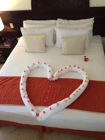 Paradisus Punta Cana Resort: Valentine's Day - our Room