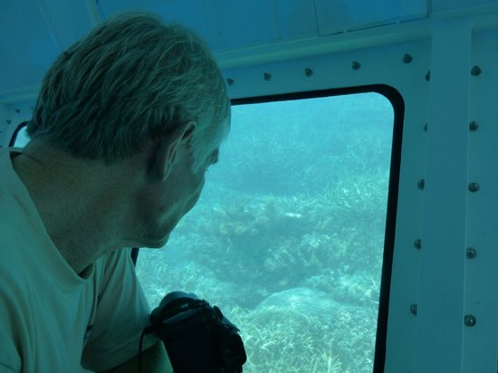 Agincourt Reef : in the semi submersible