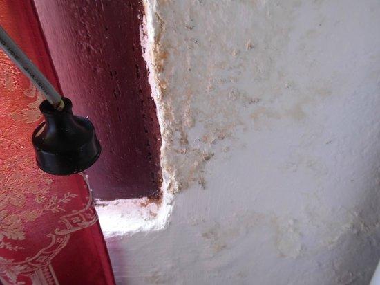 Sol Caribe Campo: Hongos en la pared de la habitación