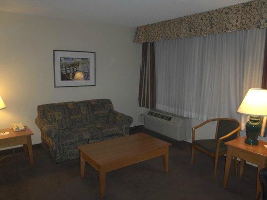 Mardi Gras Hotel & Casino: Couch area