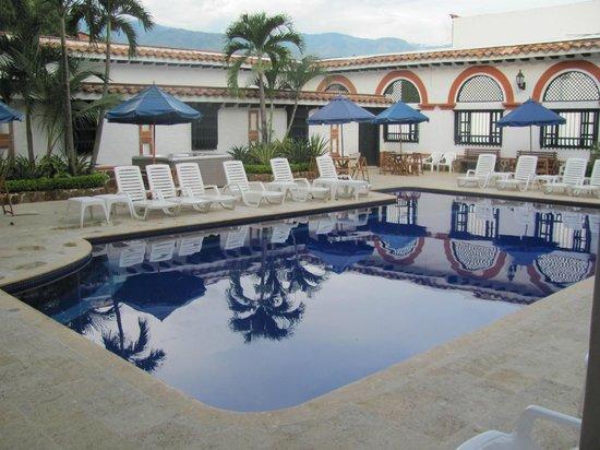 Las Palmeras Hotel Colonial: Hotel Pool