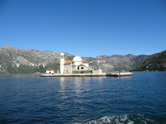 TUI SENSIMAR Kalamota Island Resort: Our Lady of the Rocks Church, Montenegro