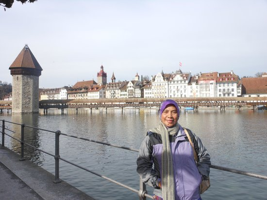 Guided City Tour of Lucerne: Water tower & old bridge