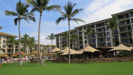 The Westin Kaanapali Ocean Resort Villas : Resort view