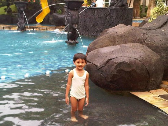 Novotel Surabaya Hotel and Suites: children playground