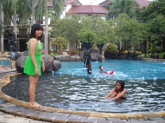 Novotel Surabaya Hotel and Suites : pool
