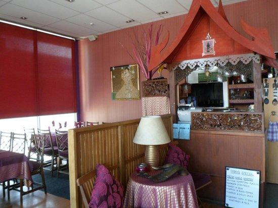 The Thai Restaurant: Thai Thani Papamoa Interior