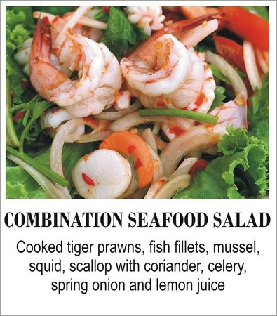 The Thai Restaurant: Combination Seafood Salad
