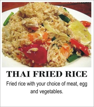 The Thai Restaurant: Thai Fried Rice