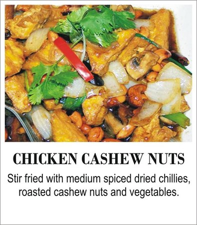 The Thai Restaurant: Chicken Cashew Nuts