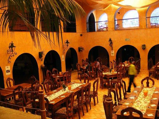 Hotel Vergel de la Sierra: Comedor