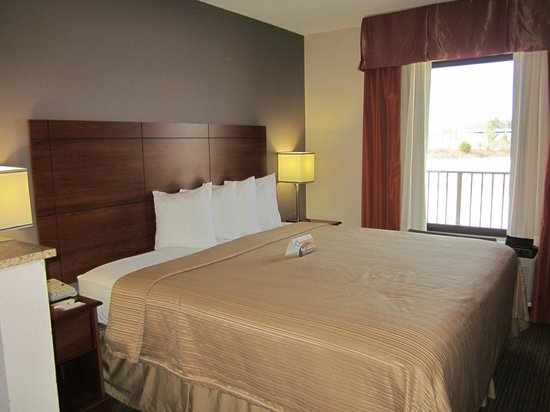Quality Inn & Suites: Room 233 - King Bed Suite