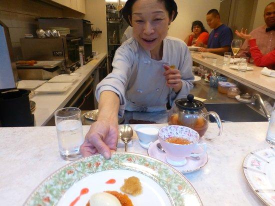 ChikaLicious Dessert Bar: Chika, the owner
