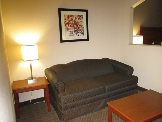 Quality Inn & Suites : Living area