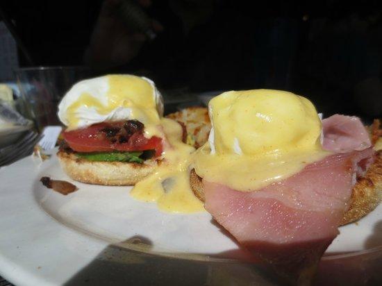 Palmetto Bay Sun Rise Cafe: 1 Sun Rise Bene and One Reg Bene