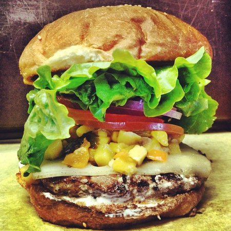 Sylvester's Burgers: Mango Habanero
