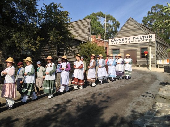 Sovereign Hill: a school excursion