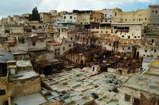 Moulay Abdellah Quarter : An intense scene