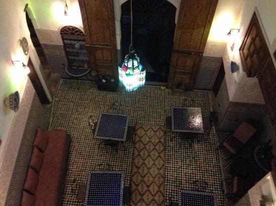 Riad Fes Aicha : Vista de la habitacion