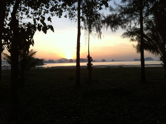 Suntisook Resort: The view from Suntisook