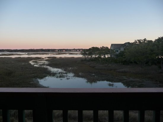 Disney's Hilton Head Island Resort : View of the marsh from our balcony