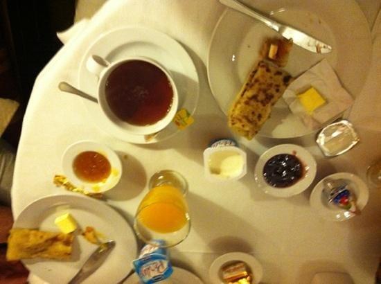 Riad Les Bougainvilliers : breakfast