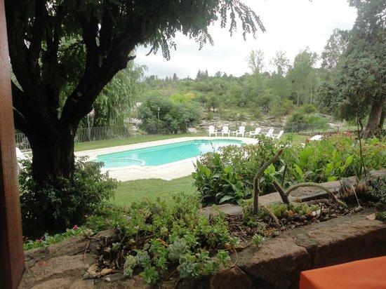Costa Serrana: Esta es la vista desde el lugar donde desayunabamos
