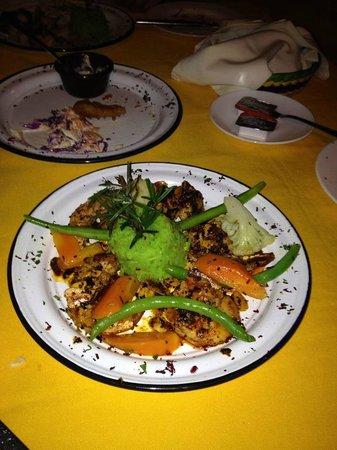Jorge's Hideaway Shrimp Shack: Great spicy shrimp