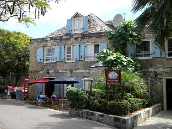 Nelson's Dockyard : Hotel in Yard