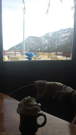 Mount Charleston : Mountain views from old club house