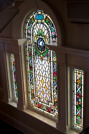 The Peter Shields Inn: Stained Glass