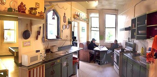 American Backpackers Hostel: The Kitchen