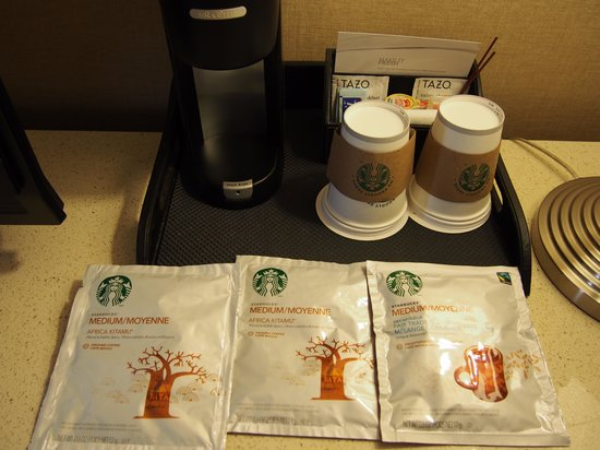 The Westin O'Hare : Husband liked the coffee selection!