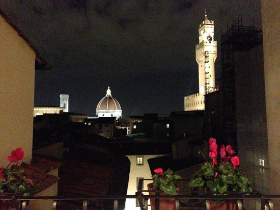 Hotel Degli Orafi: View from the terrace