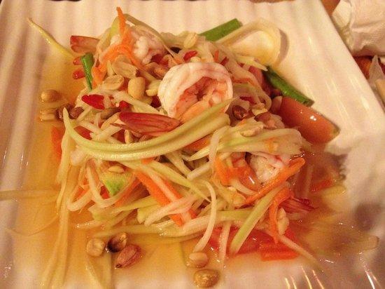 Khaw Glong Thai Restaurant: Mango salad