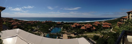 Fairmont Zimbali Resort : View from Reception