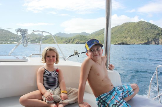 St Martin Catamarans Charters : Fun for All Ages