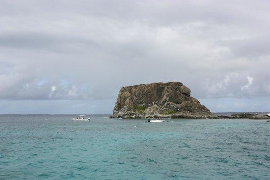 St Martin Catamarans Charters: Creole Rock Depart
