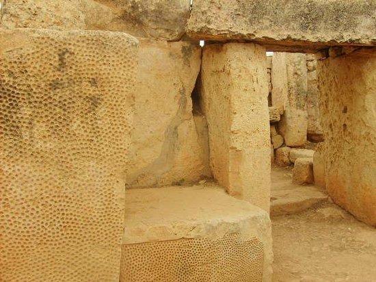 Templos Megalíticos Mnajdra: The entrance