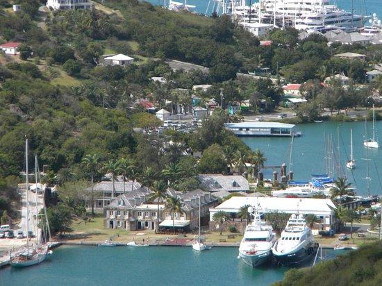 Shirley Heights : View of the Dockyard