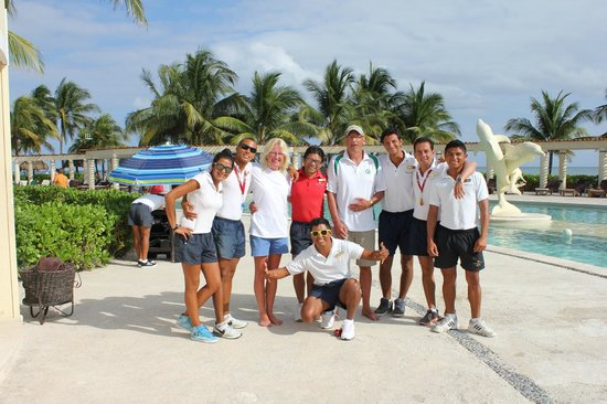 Dreams Tulum Resort & Spa : The Entertainment Crew