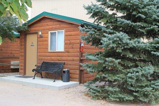 Ann's Motel: my cabin