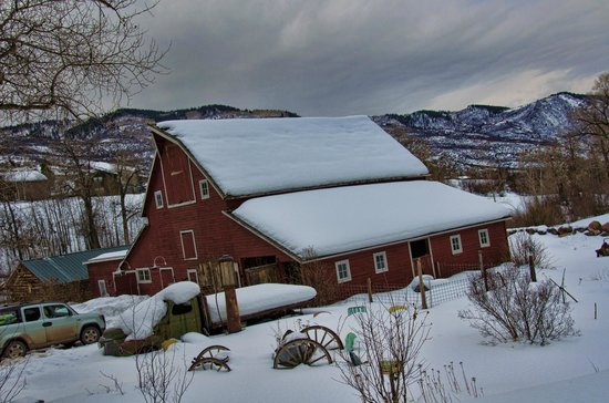 Four Mile Creek Bed and Breakfast : Barn
