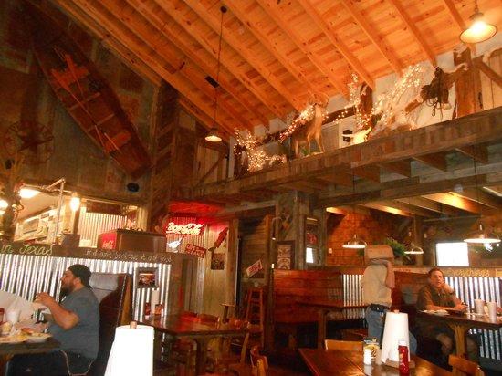 Big Horn BBQ: the wild west